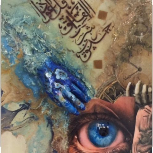 SANA HICHRI, TITLE- HOPE & MERCY, SIZE- 8-/80CM, PRICE- ON REQUEST
